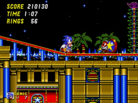 Sonic and Tails with friend, Casino Night Zone