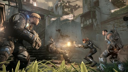 Gears Of War Judgement Campaign Screenshot Overrun Multiplayer
