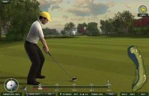 Tiger Woods Online - Taking a Shot