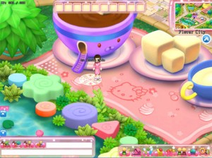 That's Hello Kitty Online by the way