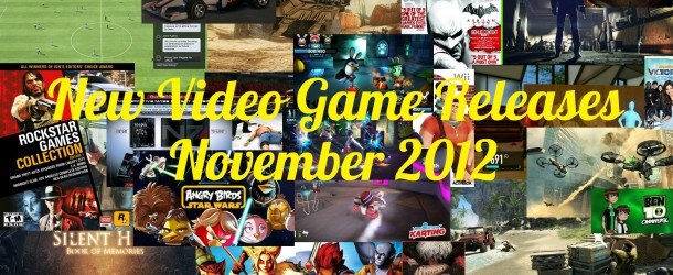 New Video Game Releases – November Schedule
