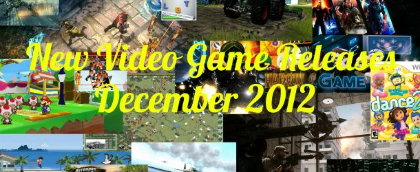New Video Game Releases – December Schedule