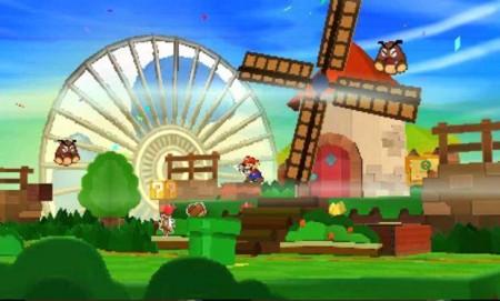 Paper Mario Sticker Star Screenshot 3DS Nintendo