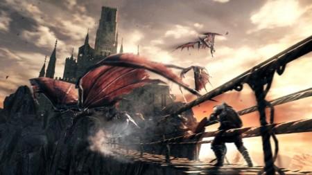 Dark Souls 2 II Screenshot Dragons PC Xbox 360 PS3