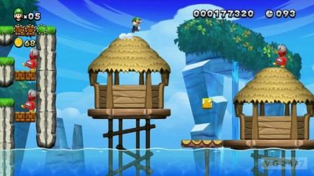 New Super Luigi U Wii Mario Nintendo