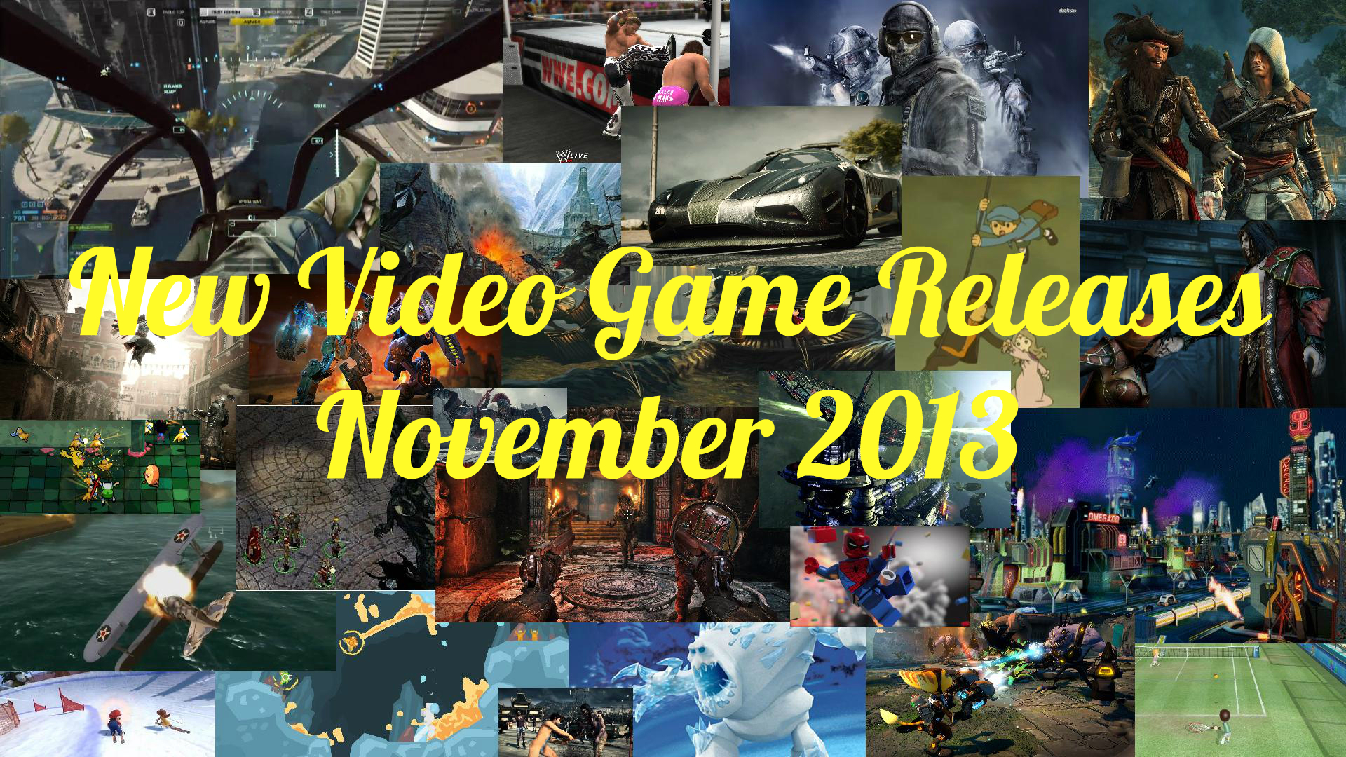 games releasing november