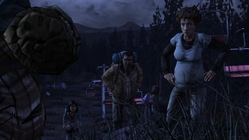 New group climbs uphill Walking Dead S2E2