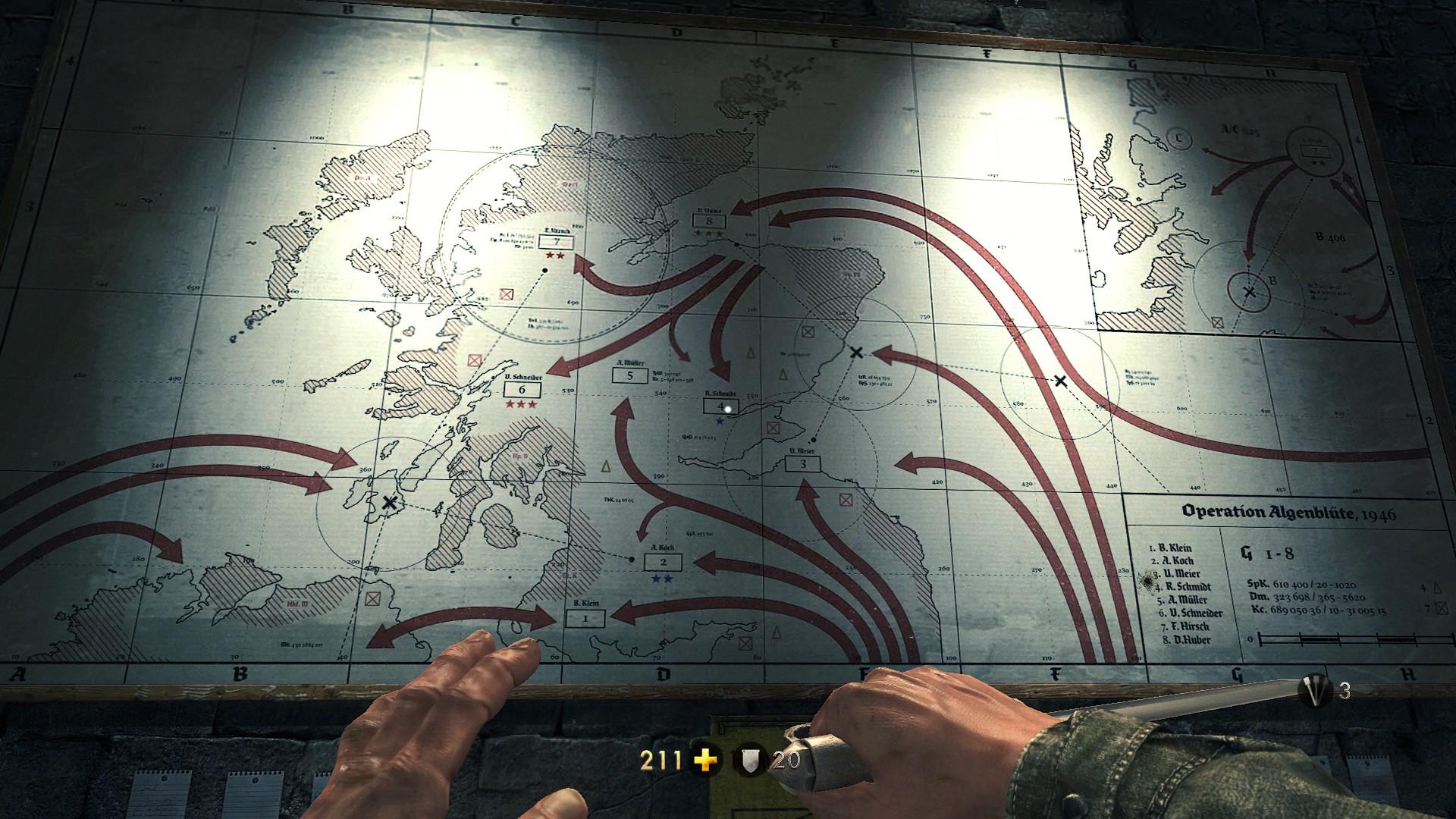 Wolfenstein – Invasion Map – The Reticule