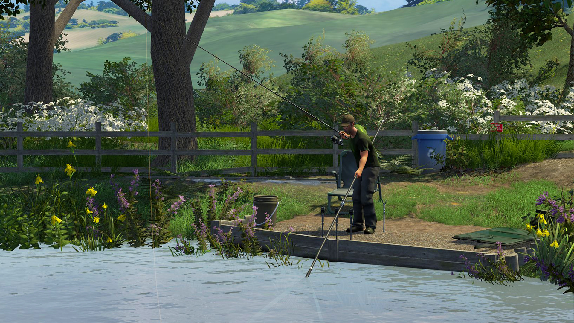 Dovetail games fishing moves to closed beta the reticule for Lake fishing games